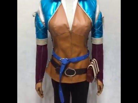 The Witcher 3: Wild Hunt Triss Merigold Cosplay Costume