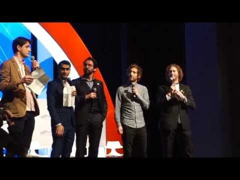 The cast of HBO Silicon Valley kick off the Global Entrepreneurial Summit for Obama