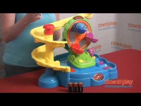 Twirlin' Tumblin' Fun Park From Fisher-Price