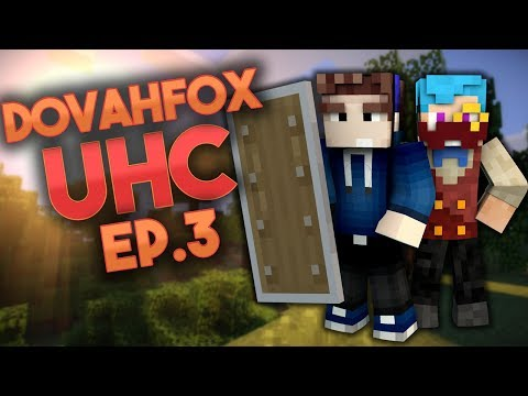 DovahFox UHC | Episode 3 | Oh No!!