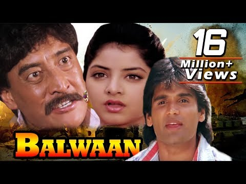 Balwaan Movie in 30 Minutes | Sunil Shetty | Divya Bharti | Hindi Action Movie