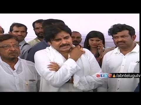 Pawan Kalyan Press Meet After Performing Bhoomi Puja For His New House In Guntur | ABN Telugu