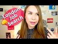 How to start your life in London - Job search #ad