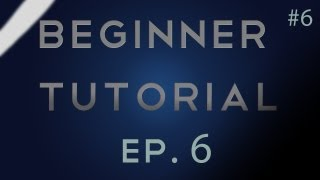 After Effects Beginner Tutorial Episode 6 - Cameras, 3D, and Motion Blur