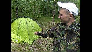 обзор на палатку Norfin Zope2 крутая тема!!!