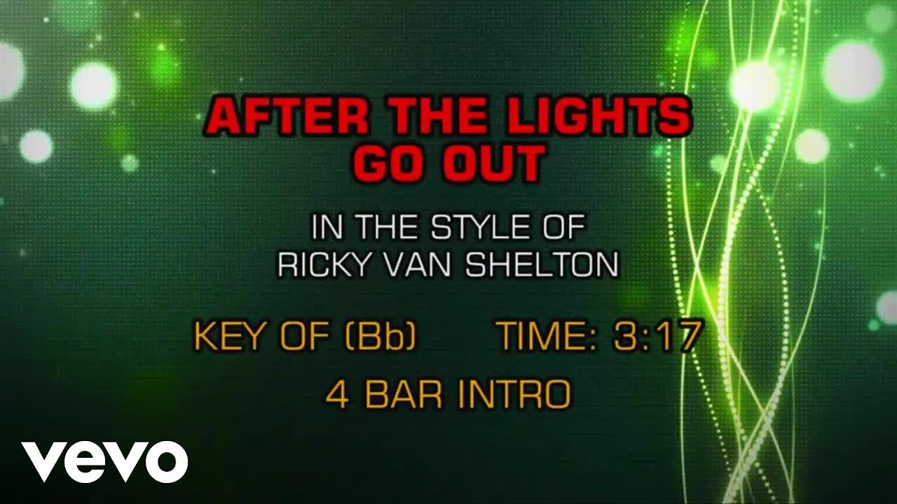 Ricky Van Shelton After Lights Go Out