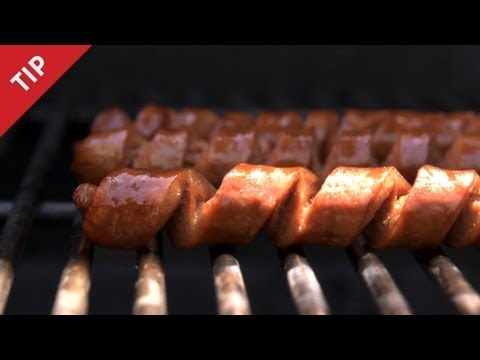 Why You Should Spiral-Cut Your Wiener - CHOW Tip