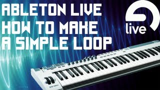 How to Make a Simple Dubstep Loop - Wobble/Wob & Drums - Ableton Live 8.2.8