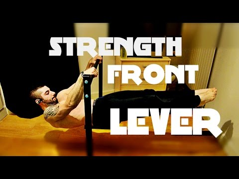 Strength  FRONT LEVER 💪Training Journal