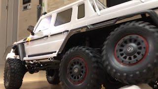 1/10 TRX-6 Mercedes Benz G63 Amg 6x6 White | Unboxing & My Garage Updates