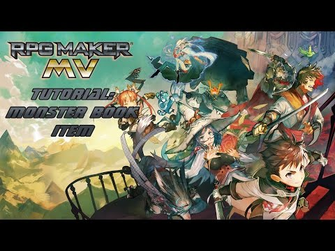 RPG Maker MV Tutorial: Monster Book + Item - YouTube