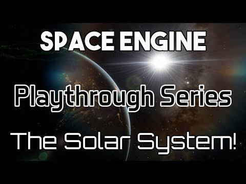 Exploring The Solar System In SpaceEngine!