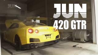 JUN AUTO JAPAN PV 2018 - Making of the JUN 420GTR