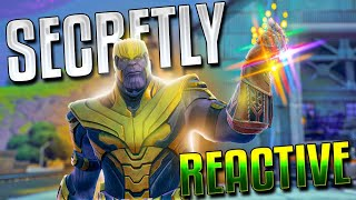 The THANOS Skin Is SECRETLY Reactive!