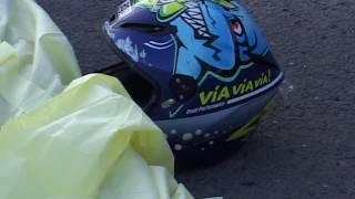 Девушка-мотоциклистка погибла в страшной аварии на трассе Седанка-Патрокл