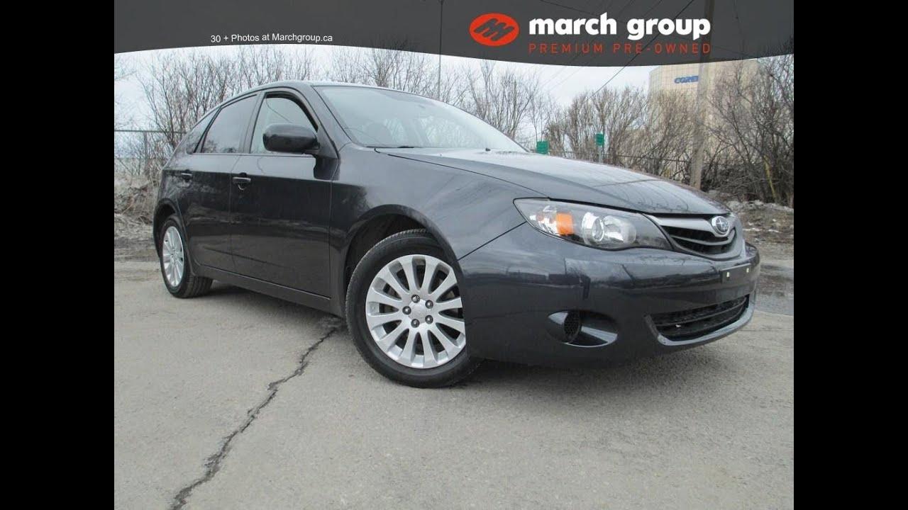 march group premium pre-owned 2011 subaru impreza 2.5i hatchback