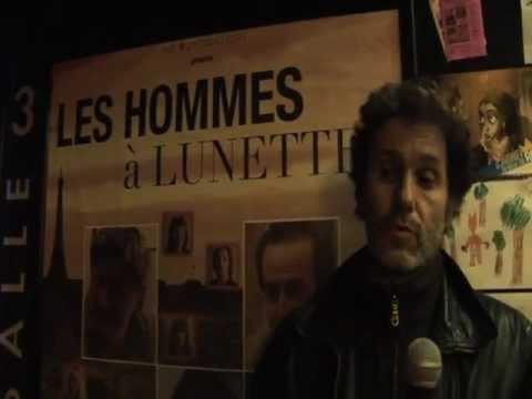 """""""Les Hommes à Lunettes"""" d'Eric Le Roch. Serge Hazanavicius à L'Entrepôt"""