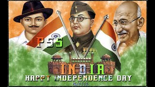 15 August HAPPY INDEPENDENCE DAY  Photoshop