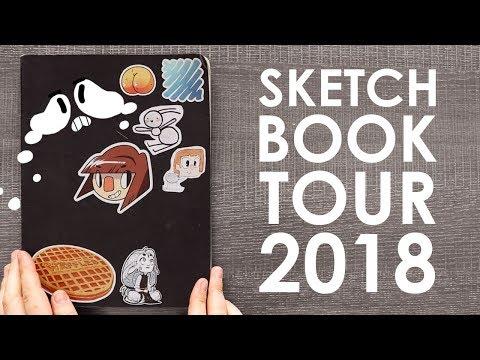 Sketchbook Tour 2018 - I DID IT!