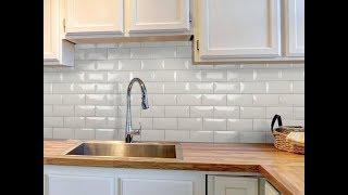 видео Плитка для кухни: облицовочная кухонная плитка в интерьере