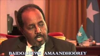 SOMALIA IS MAKING A COMEBACK ,  SAYS PRESIDENT HASSAN SHEIK MOHAMUD   1ST PART.