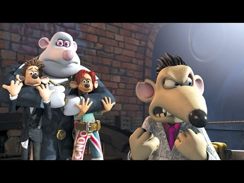 Flushed Away The Video Game Full Movie All  Cinematic