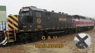 Chasing the Grafton Upton Train #1013 ~ G & U Railroad