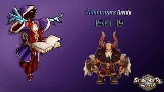 Summoners war: Гайд на рандомного монстра 3-5* (Barbaric King/Король Варваров) - 19 выпуск ✔