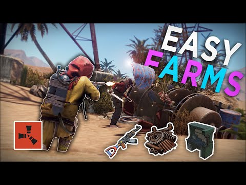 FARMING PLAYERS For SCRAP And HIGH TIER LOOT! - Rust Solo Survival #3
