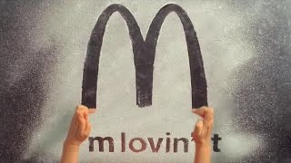 McDonald's Commercial: A Sand Art by Ilana Yahav.