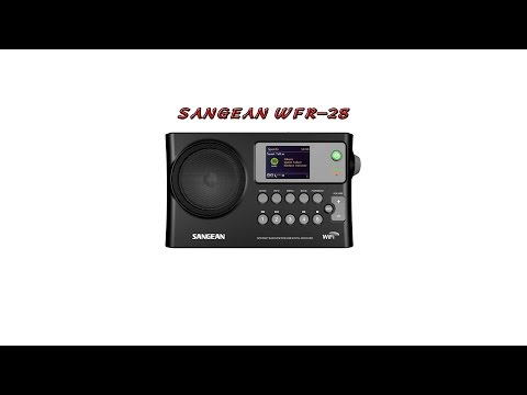 Sangean WFR-28 Internet Radio Unboxing and Review