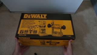 DeWALT DWP611PK 1.25 horsepower HP Compact Router Kit