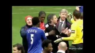 Arsenal vs Chelsea Pelea (2007 Carling Cup)