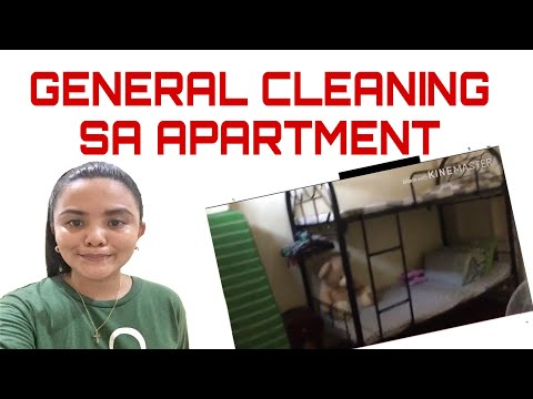 General Cleaning sa Apartment