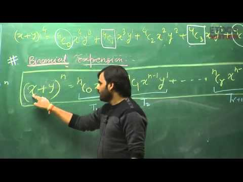 Binomial Theorem by Nikhil Srivastava (NS) Sir (ETOOSINDIA.COM)