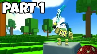Trove Gameplay Walkthrough Part 1 No Commentary - Dungeons (PS4 PRO)