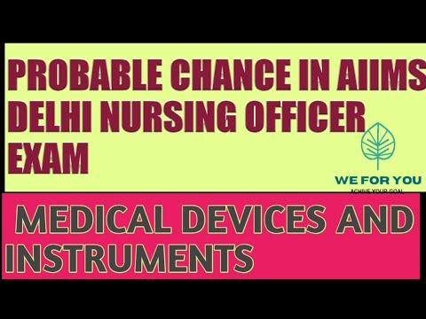 Medical Devices And Instrument  PART -1