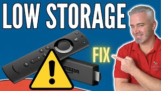 FIRESTICK LOW STORAGE FIX  CLEAN UP YOUR FIRE STICK IN 10 MINUTES