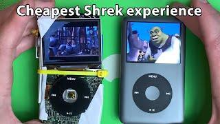 I built an iPod out of junk. The ShrekPod Pro.
