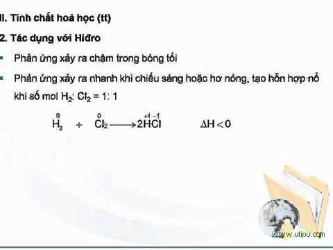 Bài 2: Clo == Ôn thi Đại học - Hóa học