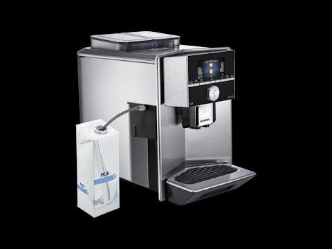 Siemens Tz90008 Milchadapter Zu Kaffeevollautomaten Eq 9 Youtube