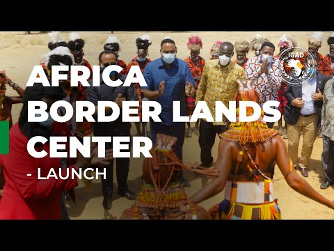 IGAD Executive Secretary  at the Launch of the Africa Borderlands Centre