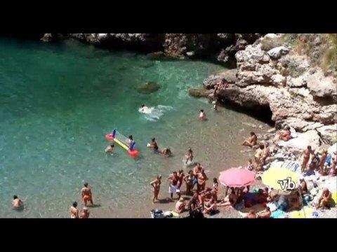 The Bay of Ieranto from Nerano, Italy
