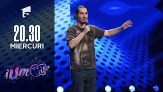 iUmor 2021 | Andrei Gădălean glume în rafală la iUmor. Prietenei mele îi place să trăiască în trecut