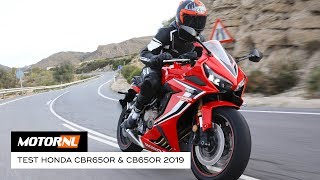 Honda CBR650R & CB650R 2019 - test (English subs)