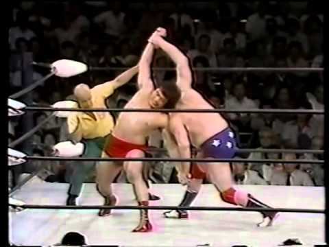 Terry Funk vs Jumbo Tsuruta (06/11/1976)