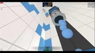 TheRealMrEpic messes around with PORTAL in ROBLOX (GLITCHED CUBES)