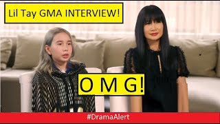 Lil Tay Interview With Gma Bad Dramaalert Jake Paul Roasted By Teacher Ksi Vs Logan Paul
