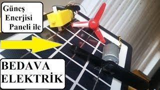 Güneş Enerjisi İle Evde Bedava Elektrik - Free Energy