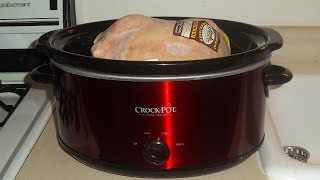 6 Quart Red Crock-Pot Slow Cooker Review
